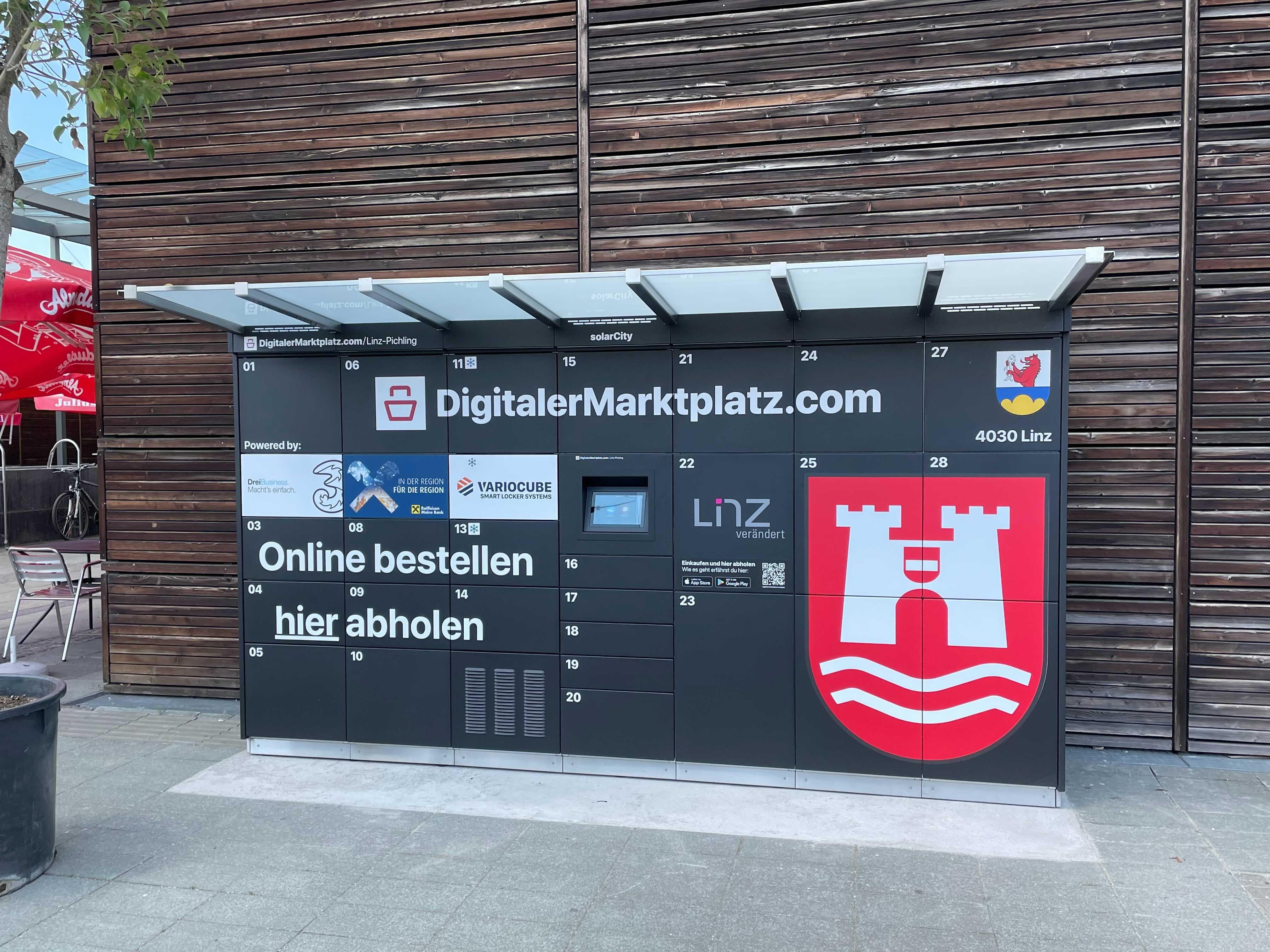 DMP Abholstation - Linz, Solar City