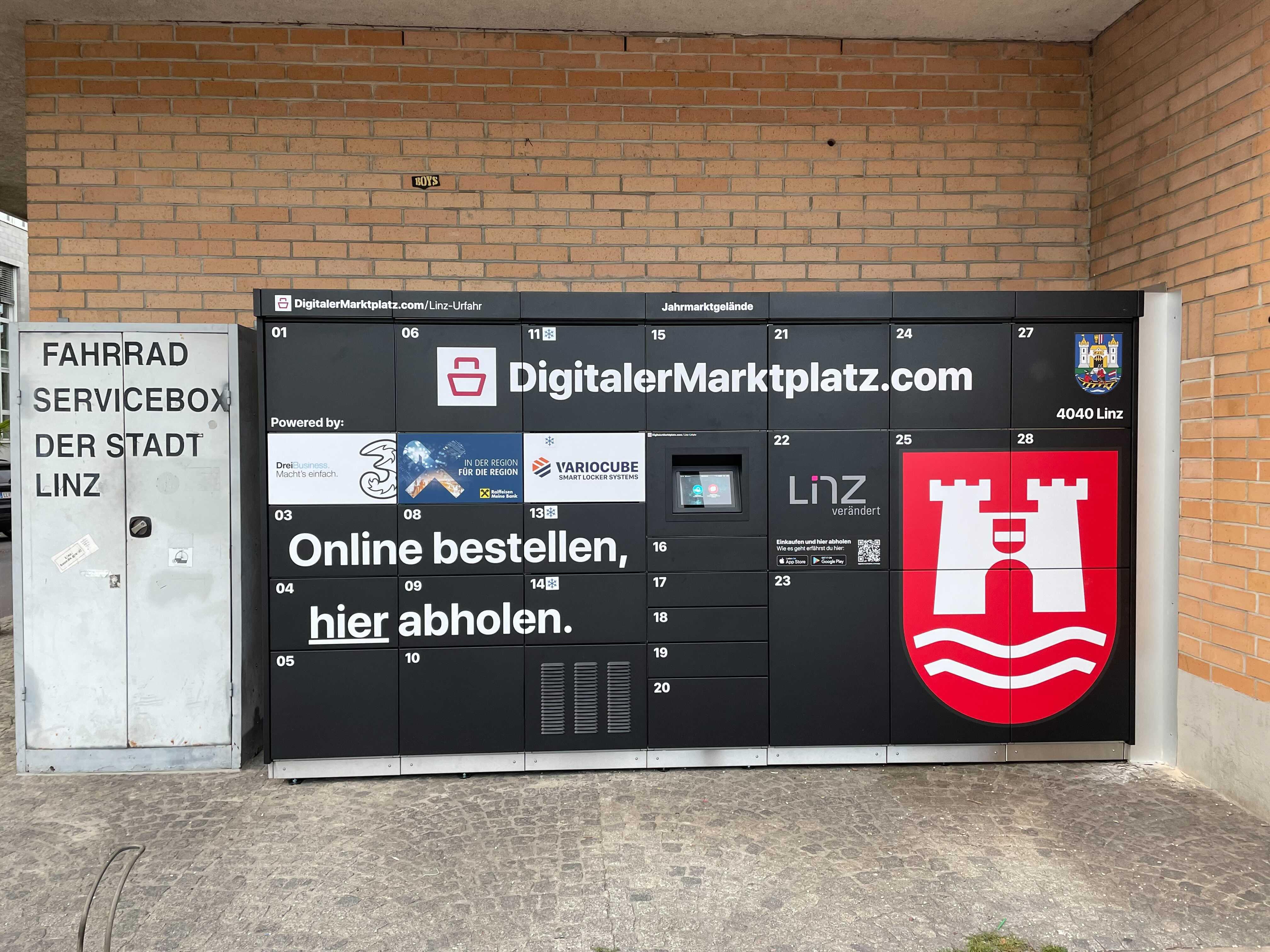 DMP Abholstation - Linz, Urfahr